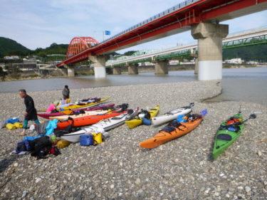 熊野川でシーカヤック&キャンプ(3日目)