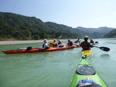 熊野川でシーカヤック&キャンプ(2日目)