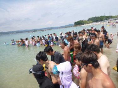 御座白浜de海水浴 2013/07/21