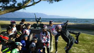 琵琶湖を満喫:ちゃりん娘ファンライド ビワイチ 20170423