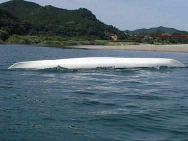 シーカヤックで沈(転覆)した後の再乗艇を考える