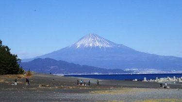 20180103新春は三保の松原で富士山と富士山丼