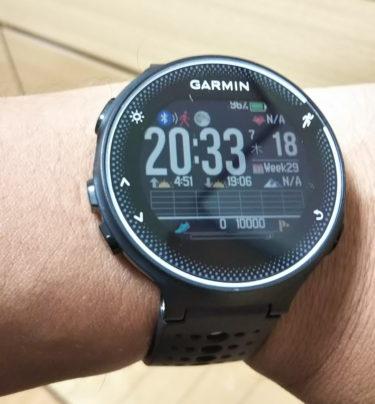 GARMIN ランニングウォッチで心拍数ジョギングを始めてみた