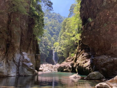 日本三大峡谷の大杉谷を日帰り登山でチャレンジ